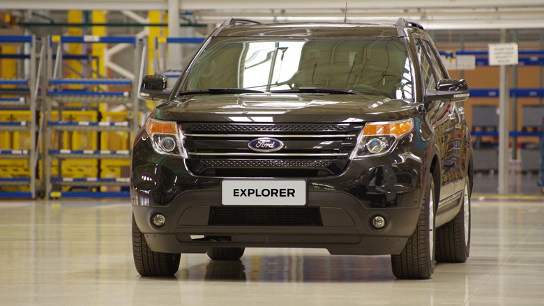 Ford Explorer в комплектации Limited